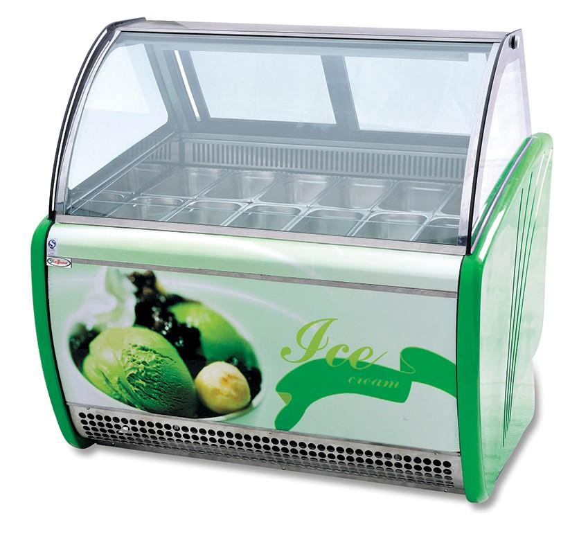 haagen-dazs display freezer/ice cream refrigerator/ice cream ...