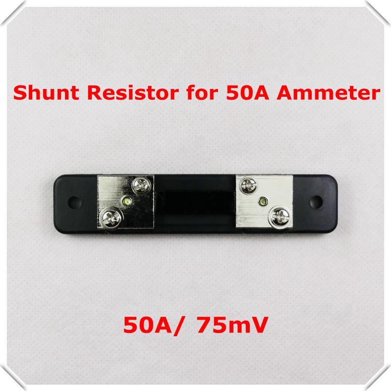 Fl2 шунт для DC 50A 75mV цифровой амперметр