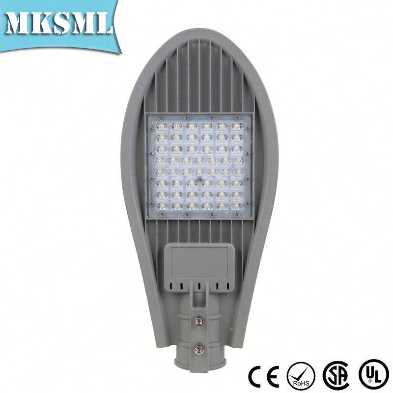 Great black IP67 eco VDE 50W SMD light fittings aluminium fiberglass street lighting pole