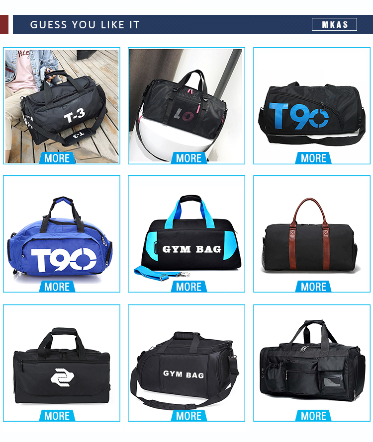 Large Capacity and Multi-function Gym Bag Custom Logo Duffle