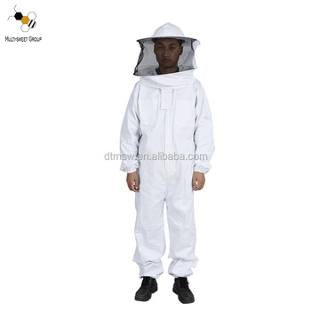 bee protective clothing beekeeper suit/coverall suit with 100% cotton