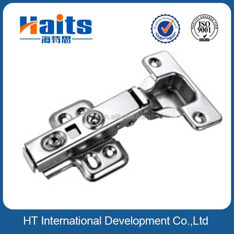 high quality hydraulic 35mm stainless steel clip on hinge for clothespress, adjustable 35mm 70 gram two way door hinge