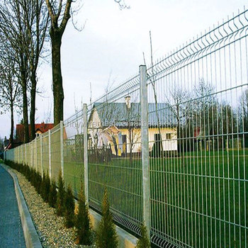 Home Garden Ornamental Double Loop Wire Fence Welded Wire Fence