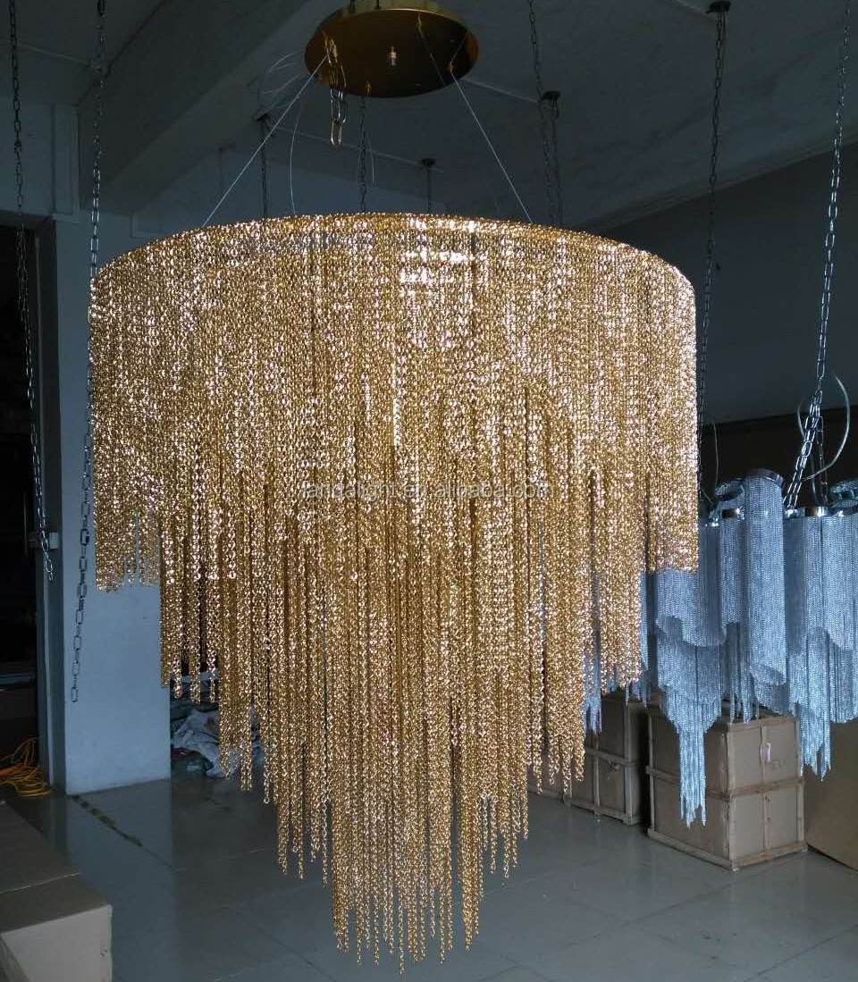 Golden chain atlantis chandelier pendant light buy atlantis golden chain atlantis chandelier pendant light arubaitofo Choice Image