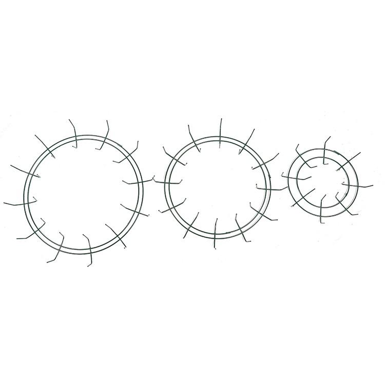 circular ring mesh wreath frame for decoration