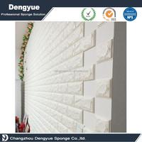 Fireproof kids soft foam wall decorative panel 3D foam wallpaper wall coverings