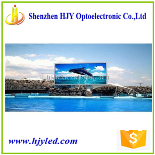 High quality p10 outdoor led banner display digital numeric display