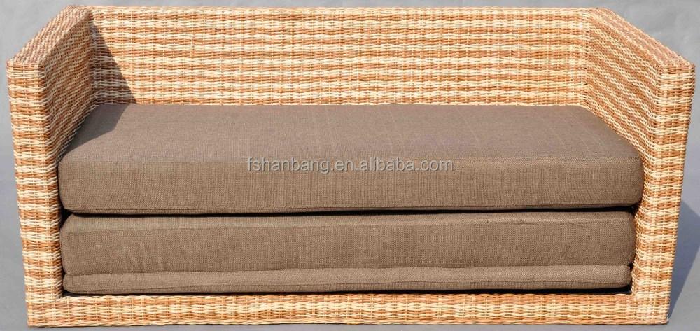 cabrio rattan geflochtenen schlafsofa wohnzimmer sofa produkt id 496218171. Black Bedroom Furniture Sets. Home Design Ideas