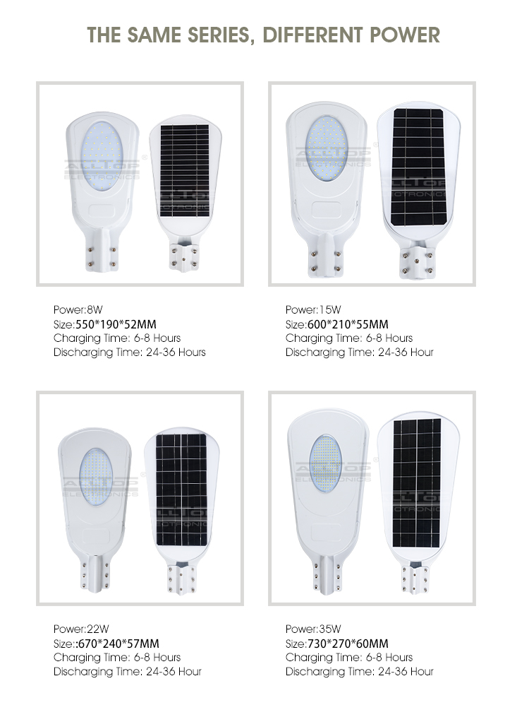 High quality outdoor waterproof 15w solar led street light
