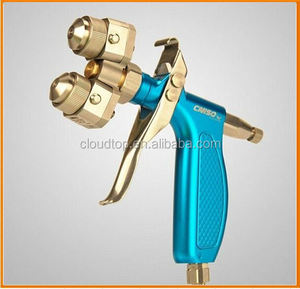 Ningbo air tools 2015 mont blanc cufflinks mini chrome double nozzle spray gun