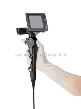 3.2mm-5.2mm out diameter 2.2mm working channel portable flexible video bronchoscope
