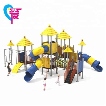 HAT-18 Customized Whole Design Kindergarten Swing Slide For Kids Outdoor Playground Equipment