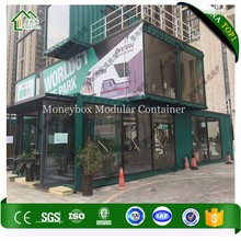 Factory Direct Sales Container House Shop With Solar
