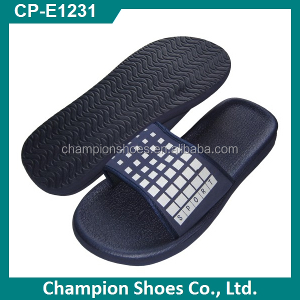 Anti-slip men women bathroom slippers for hotel spa sauna