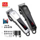 Kiki Newgain Professional LCD display USB Rechargeable Lithium battery Electric wireless hair clipper