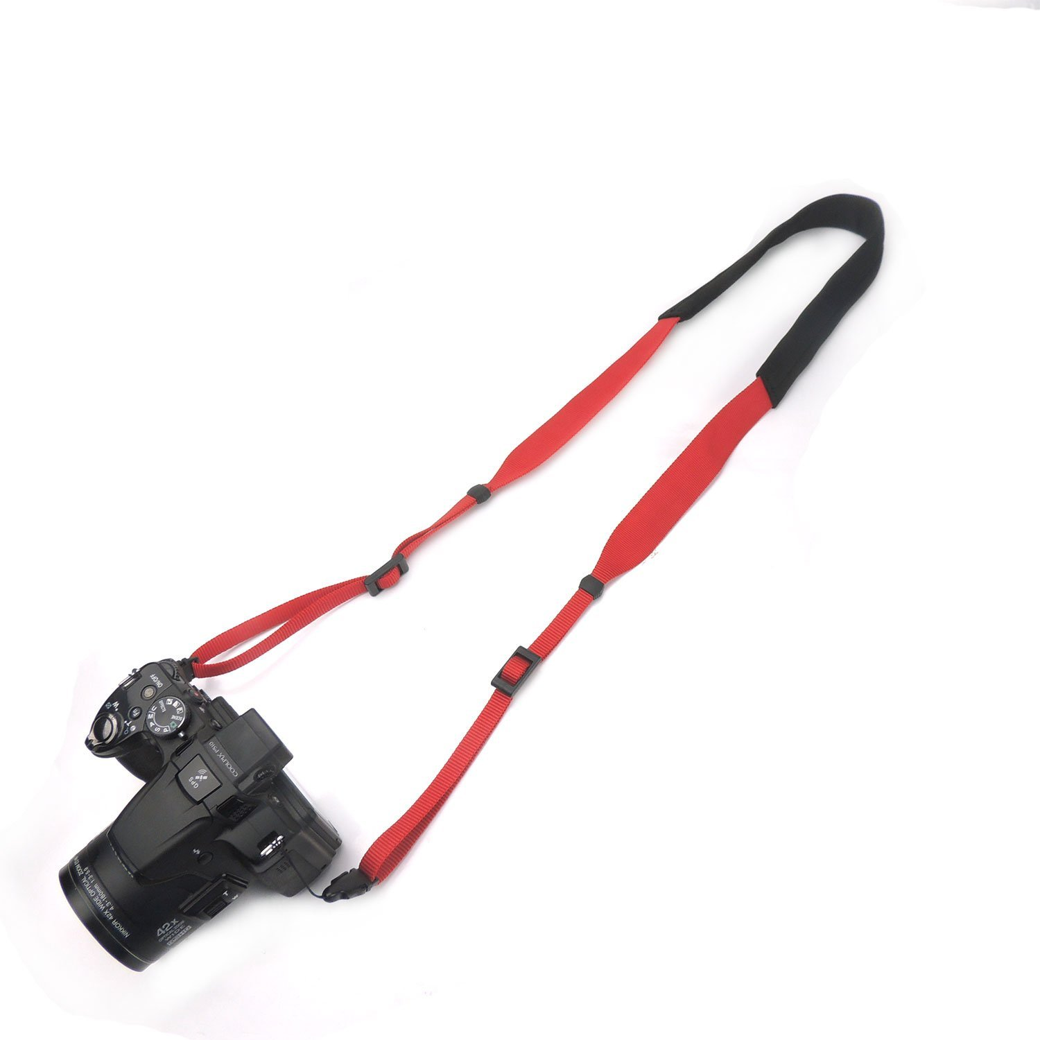 CHMETE Specially Design for Summer Can Be Washed Camera Neck Strap (Red)