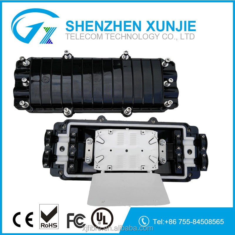 Outdoor Waterproof 48 ports fiber optic closure for undergroud