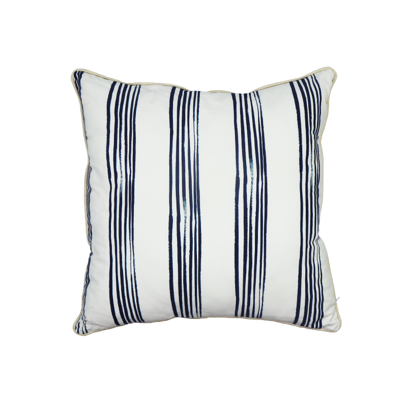 Hot selling in canada hotel decorative stripe pillow case