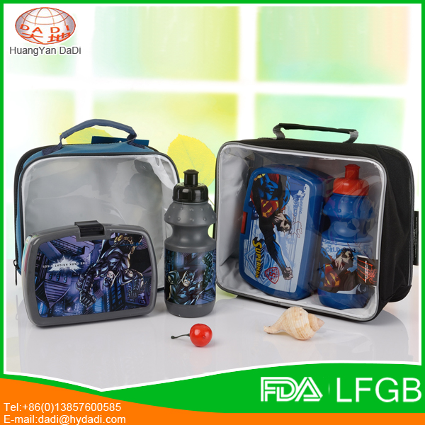Low Price reusable fresh cool durable school bag with lunch bag