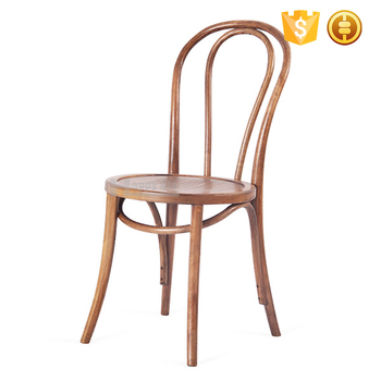 Antique Stackable Restaurant Dining Thonet Bentwood Chair