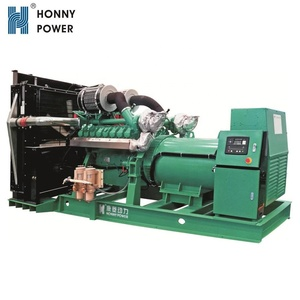 Global Warranty 1000kVA 800kW Diesel Generator Set with Low Price