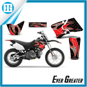 Custom motorbike sticker motorcycle sticker designhot sale motorcycle 3d stickers