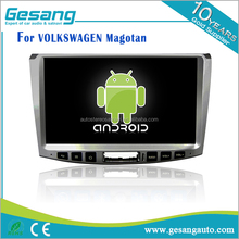 Gesang factory Android 6.0 car dvd player For VOLKSWAGEN Magotan Built-in GPS Navigation