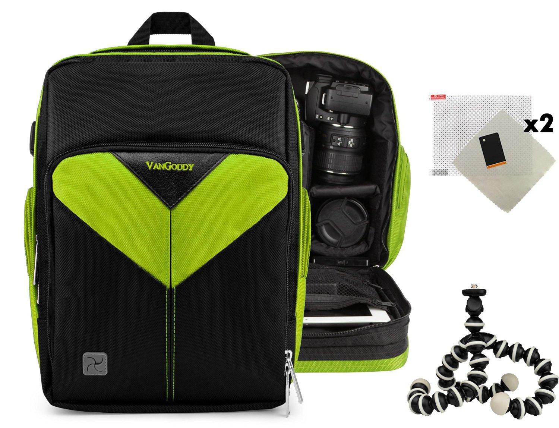 DSLR Travel Camera Bag For Nikon D3, D300, D300s, D3000, D3100, D3200, D3300, D3S, D3X DSLR Camera + Screen Protector (x2) + Mini Tripod
