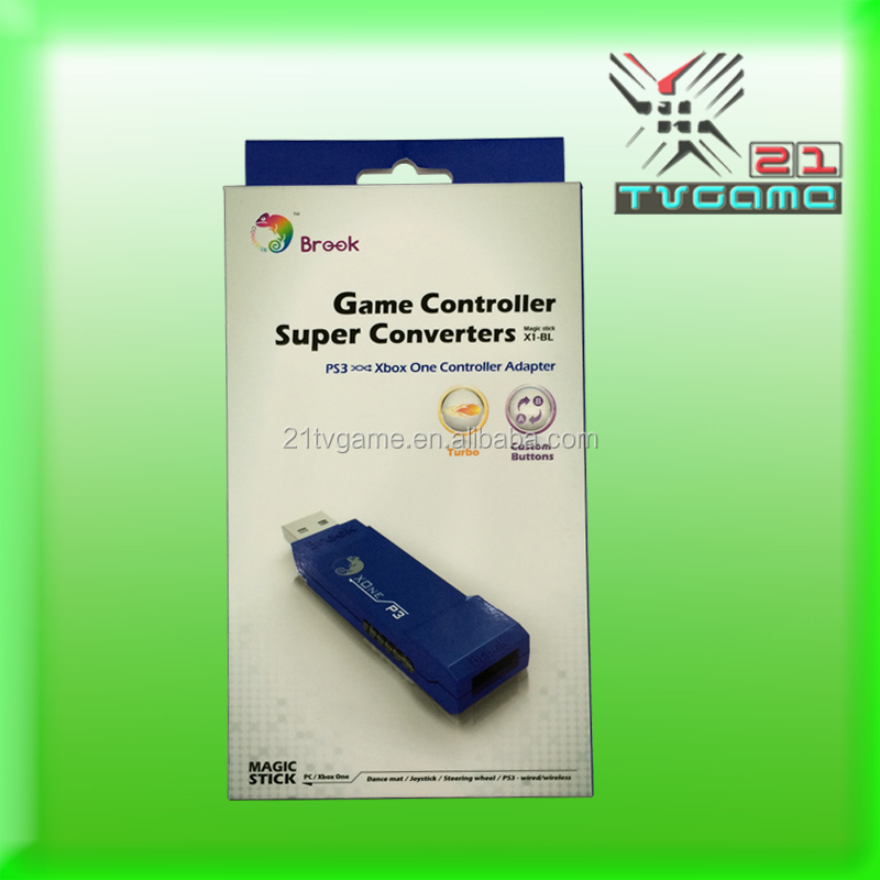 New Product!!Controller Adapter For Xbox One,USe your PS3 Controllers on Cbox One and PC!