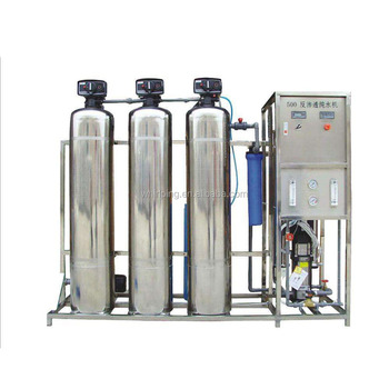 df0373c5015 Industrial reverse osmosis plant 0.5T L manual flush RO water desalination  treatment machine