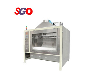 Top quality chocolate belt coater machine for coating chocolate