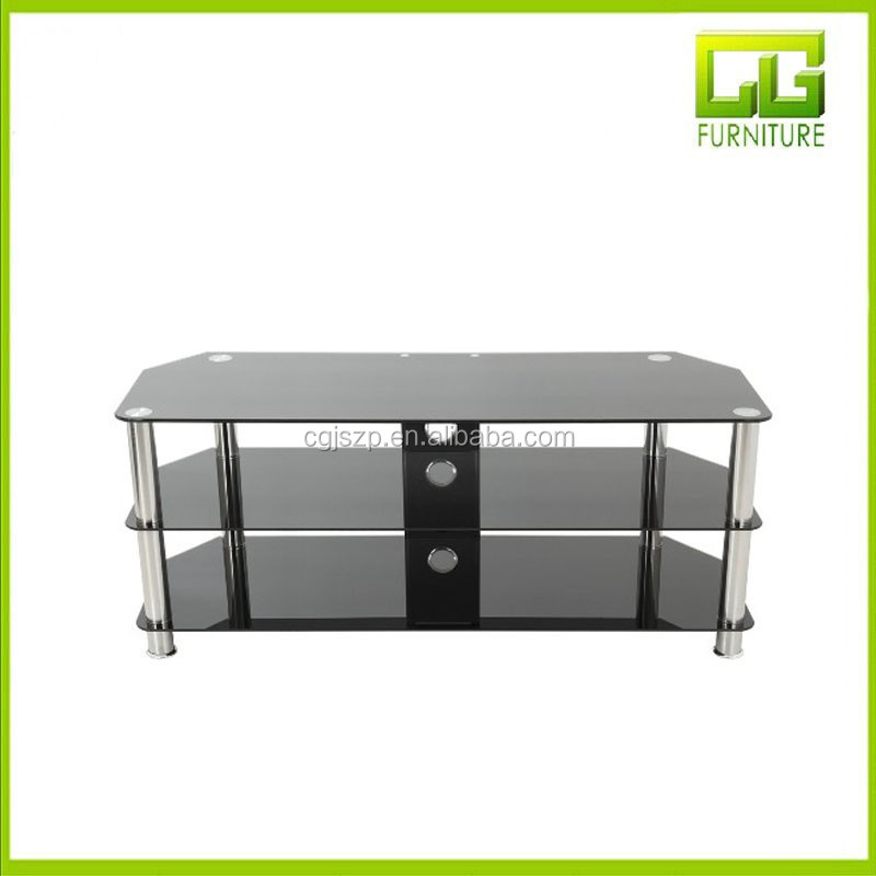 Glass And Chrome Tv Stand Black Tempered Glass Tv Stand Buy Tempered Frosted Glass Tv Stand Chrome Legs Tv Stand Cheap Glass Tv Stand Product On