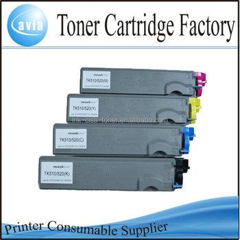 Tk-520 Tk-521 Tk-522 Tk-523 Tk-524 Toner Cartridge For Kyocera Fs ...