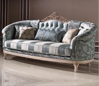 Bisini Luxury Light Blue Sofa Set - Buy Sofa,Sofa Furniture,Sofa Design  Product on Alibaba.com