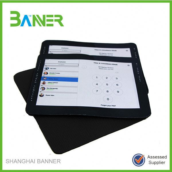 Waterproof non-slip OEM Neoprene Sublimation Print Mouse Mat