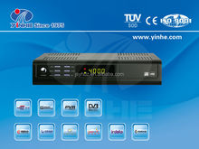 DVBS2 HD Mpeg2/Mpeg4 H.264 digital satellite tv receiver with Conax CA