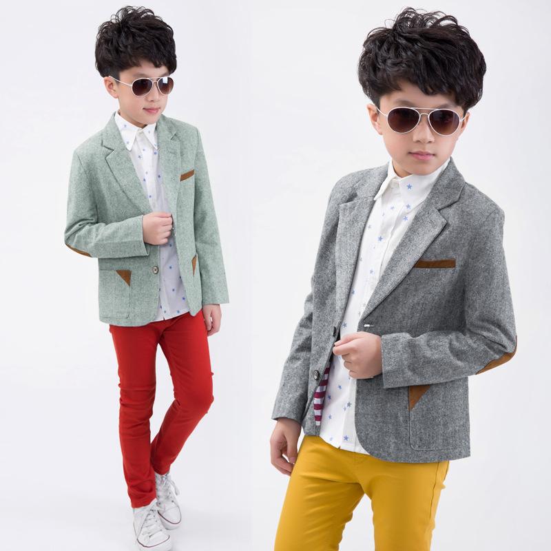 6c0cb84e3 Buy New Fashion Boys Formal Suits Turn Down Collar Long Sleeve ...