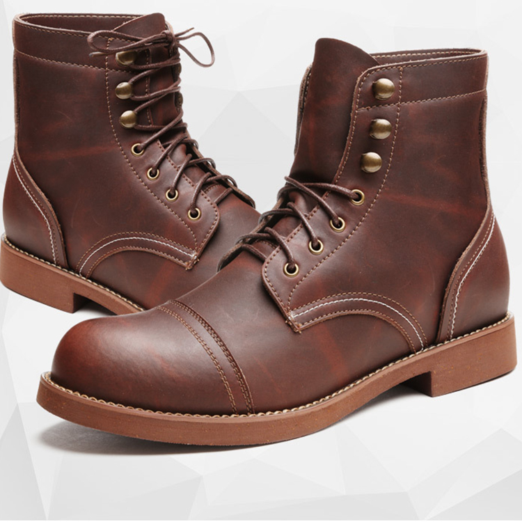 high men quality shoes leather fashion real cowhide New 5q4wR4