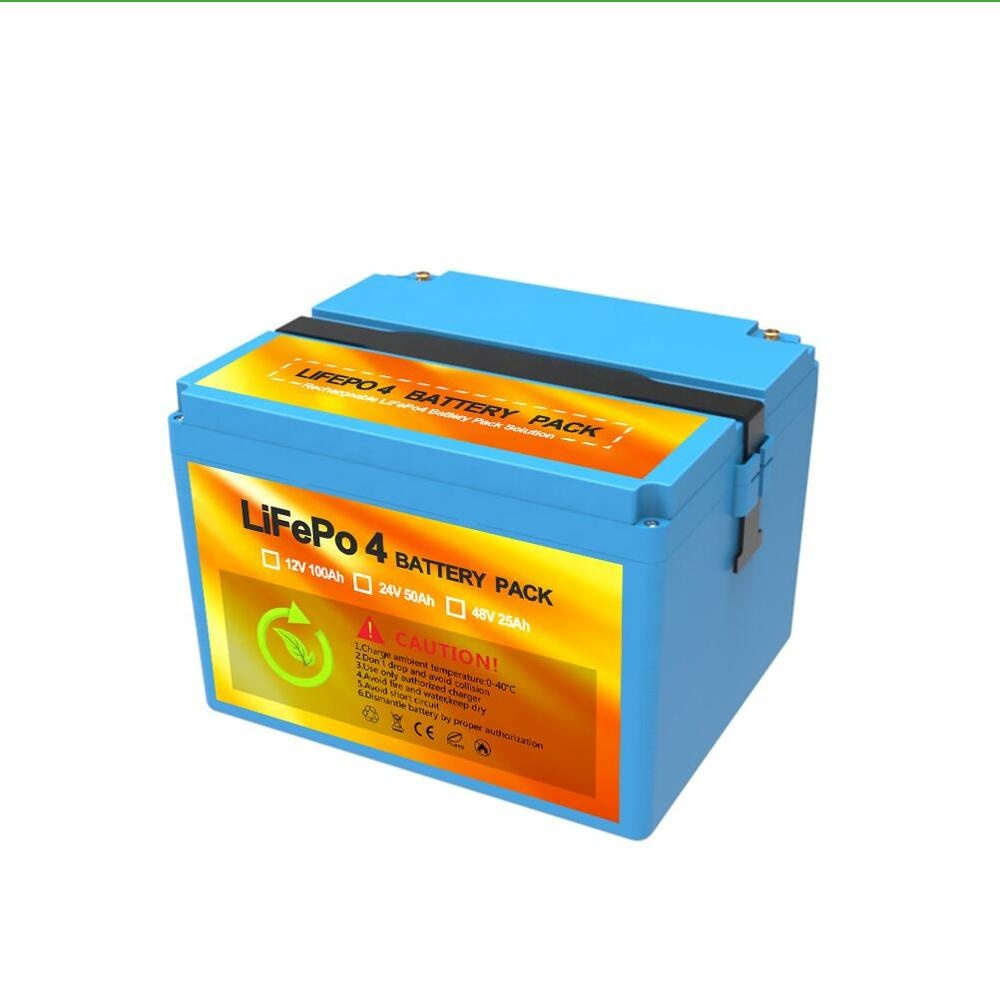 Batteria al litio Lifepo4 12 v 100ah