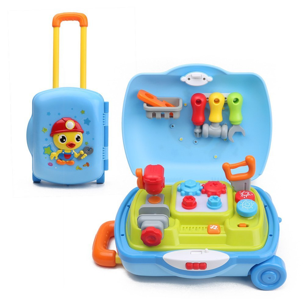 Buy Advanced Play Toddlers Engineering Take Apart Toys Tool Set With ...