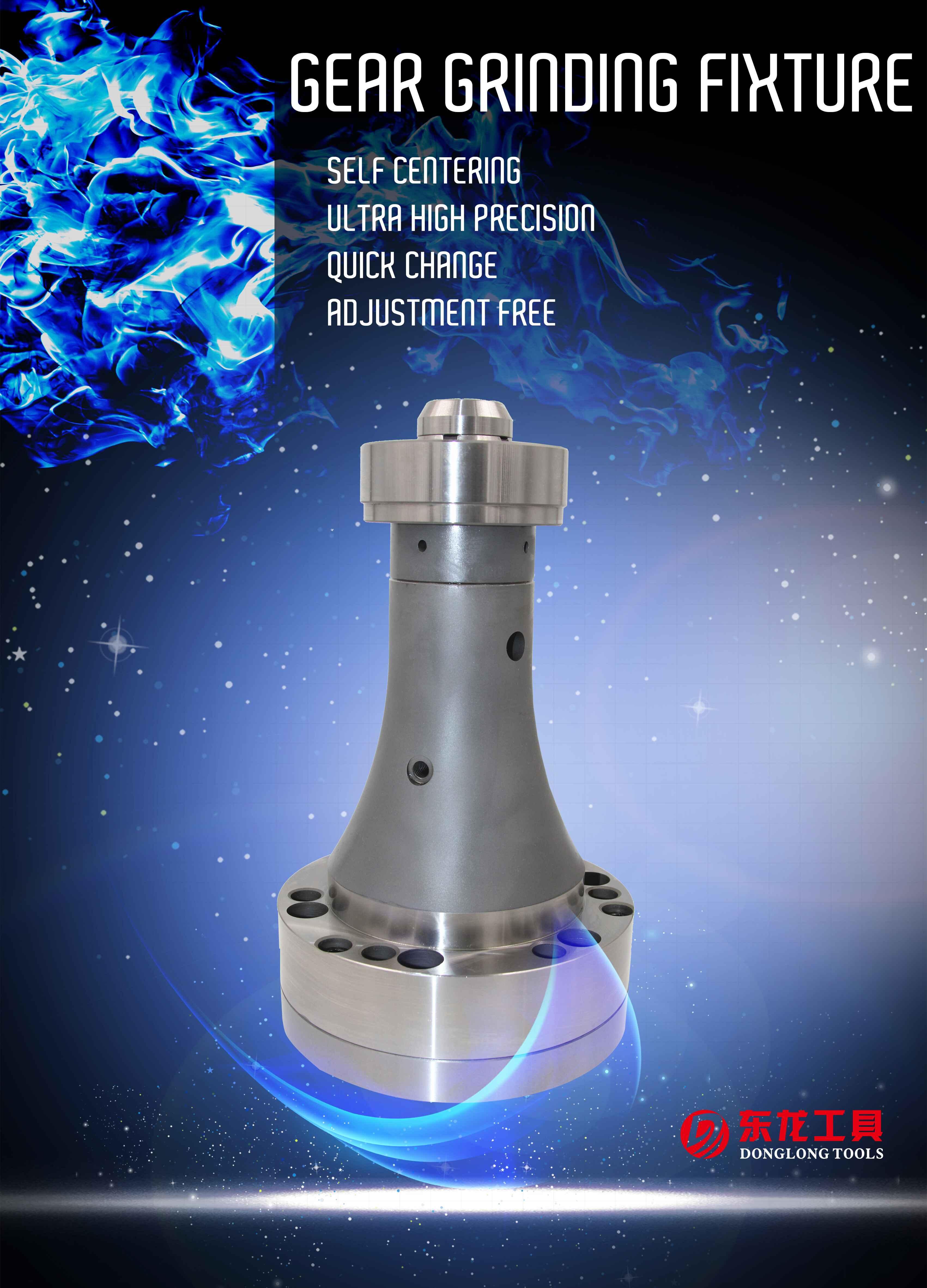 Groothandel Aluminium Tandheugel Gear Slijpen Armatuur Chinese Productie Bedrijf