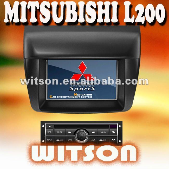 WITSON MITSUBISHI L200 3G CAR DVD GPS NAVIGATOR with Radio RDS function