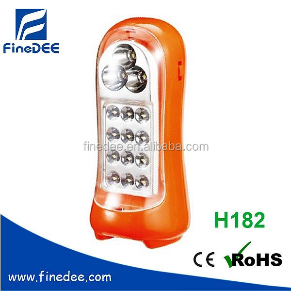 12+3pcs Rechargeable Emergency LED Outdoor Wall Lights