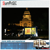 p8 p10 p16 truck mobile advertising led display Taiwan Meanwell power supply led moving sign display