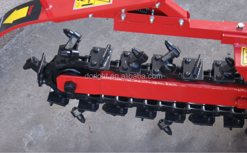 Super quality Trencher 60m per hour trench speed with B&S, Kohler, Honda engine