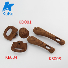 Kitchen accessories heat resistant wooden pot knob for cookware
