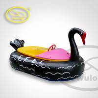 Remote control panel motorized bumper boat for kids water pool play aqua boat