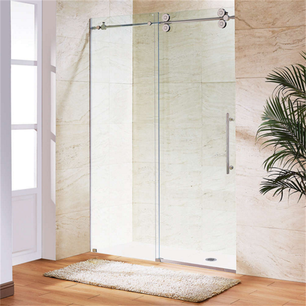 Bathroom 48 Inch 1200 Mm Frameless Big Double Hanging Rollers