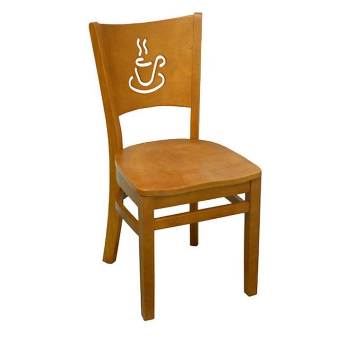 alibaba trade assurance popular item solid wood coffee shop furniture cafe chair