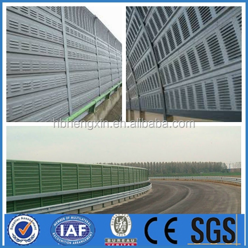 Noise barrier wall/ noise barrier fence/road noise sound barrier